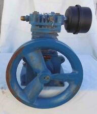 "Emglo model KU Twin Cylinder Air Compressor Pump w/10"" Pulley - USED"
