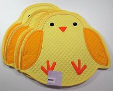 Quilted Easter Chick Placemats Celebrate Together x4