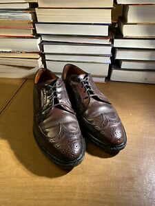 ALLEN EDMONDS 11E MACNEIL #8 SHELL CORDOVAN LONGWING DRESS SHOES