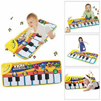 Baby Musical Carpet Piano Keyboard Kids Play Music Pad Early Educational Toys