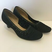 Hostesse Womens Black High Heel Shoes AU/US7.5C UK5.5 EUR38.5