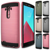 Fashion Thin Brushed Shockproof Soft Hybrid Rugged Hard Case Cover For LG V20