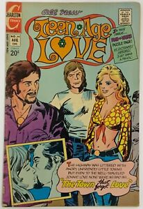 Teen-Age Love 94 Charlton Comics GD Condition Romance Comic