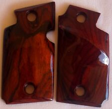 SIG-SAUER P938 AMBI-CUT TARGET GRIPS palm-swell & thumb rest COCOBOLO 9-54 NICE