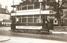 Old reproduction photo of Dover Tram at the Maxton Terminus
