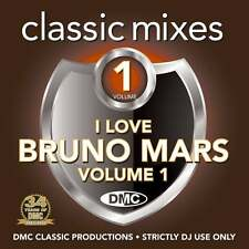 DMC Bruno Mars Megamixes & 2 Trackers Mixes Remixes Ft Soul 2 Soul & Train DJ CD