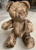 Antique Mohair jointed teddy bear 🧸 stitched face glass eyes
