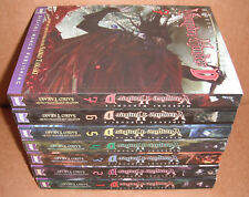 Vampire Hunter D Vol.1,2,3,4,5,6,7 - Graphic Novel - Manga