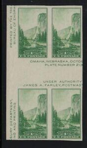 1935 Sc 769 National Parks FARLEY horizontal gutter block NGAI