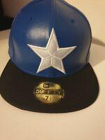 New Era Captian America Marvel Size 7 1/2 Rare Snapback Hat Official