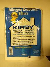 Kirby Factory Vacuum Cleaner Bags HEPA Allergen Lot of 5