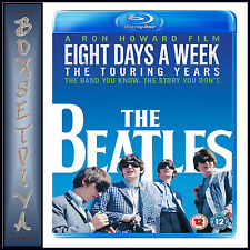 THE BEATLES EIGHT DAYS A WEEK - THE TOURING YEARS  *BRAND NEW BLURAY**