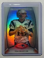 2012 TOM BRADY Topps Platinum #50 New England Patriots NFL Card Mint