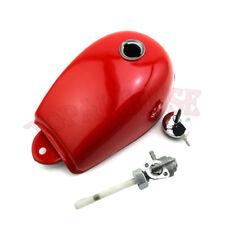 Red Fuel Gas Tank Cap Petcock For Honda Monkey Mini Trail Z50 Z50A Z50J Z50R