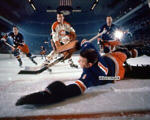 1962 New York Rangers Gump Worsley Doug Harvey vs Canadiens Net Cam 8 X 10 Photo