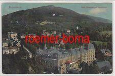 14580 Ak Badenweiler Hotel Römerbad mit Hochblauen 1913