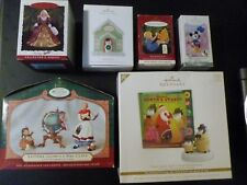 Lot of 6 Hallmark ornaments/keepsakes. Includes disney/barbie and More! F/S