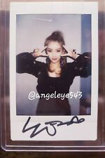 (G)i-dle Soyeon LATATA ERA signed polaroid gidle