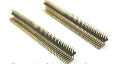 20Pcs 1.27mm  1.27  2*50P  ben 0.8U Double Row Strip Bend Angle 2X50P 100PIN