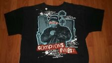 2XL Vintage Rapper EAZY-E T-Shirt N.W.A Compton Calif. RAP Group Dr DRE Ice Cube