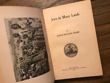 """""""Jews in Many Lands"""" Adler 1905"""