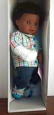 American Girl Bitty Twin BOY Doll 1B Black Textured Hair Brown Skin NEW 1 Doll