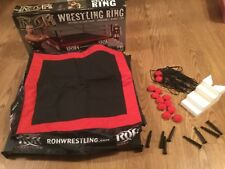 ROH Ring of Honor Wrestling Ring Figures toy company real scale wwe mattel esr