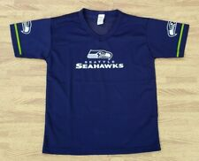 Seattle Seahawks Franklin Blue Mesh Jersey Shirt ~ Youth Medium M Boys