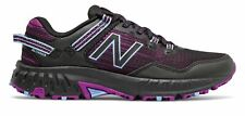 New Balance Women's 410v6 Shoes Black with Plum