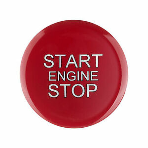Sport Red One-Key Start Engine Button Decorate Car Accessories For Alfa Romeo