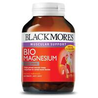 BLACKMORES MUSCULAR SUPPORT BIO MAGNESIUM 200 TABLETS - OzHealthExprts