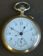 VERY Rare A. Golay & Fils Paris 5 Minute Repeater Pocket Watch - SOLID 18k Gold