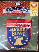 NCAA College Football AutoZone Liberty Bowl Patch 2013/14 Mississippi State Rice