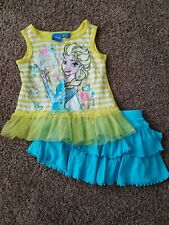 Toddler girl Outfit Size 24 Months, Elsa Outfit, Disney's Frozen Clothes