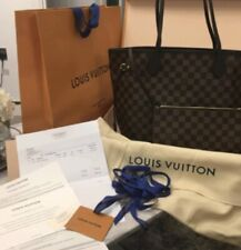 Authentic Louis Vuitton Neverfull Damier Ebene  with ponch Brand new