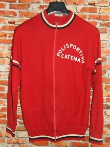 Shirt Bike Shirt Jacket Cycling Heroic Vintage 70'S Chain 50% Wool Embroidered