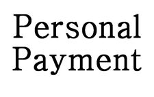New listing Personal Payment
