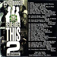 DJ Ty Boogie Remember This ? #2 80s Hip Hop Mix CD Mixtape Rap PROMO