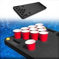 Floating Pool Beer Pong Table Party Durable Black Foam Deflation-Proof 6 Feet