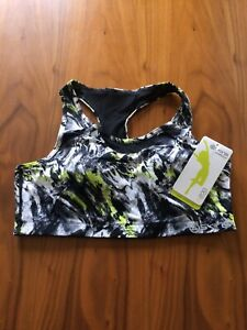 womens SKINS A200 active cropped top size XS
