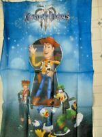 Kingdom Hearts Collectors Edition Disney Toy Story Woody Fabric Promo Banner