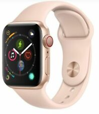 Apple Watch Series 4 40mm Gold Case Pink Sand Sport Band GPS + Cellular Mint!