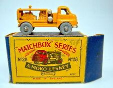 "Matchbox RW 28A Compressor Truck orange in ""MOKO"" Box"