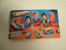 HOTWHEELS 2013 COLLECTOR BOOKLET JUST REALEASED BRAND NEW