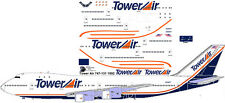 Tower Air Airlines Boeing 747-100 decals for Revell 1/144 kit