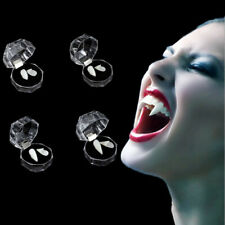 13mm Vampire Fangs Teeth with Adhesive Halloween Party Cosplay Props Accessories
