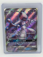 Mewtwo GX 72/73 SM Shining Legends Ultra RARE Full Art Holo Pokemon Card MINT