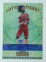 2019-20 Panini Contenders Lottery Ticket Coby White Rookie RC #7, Bulls