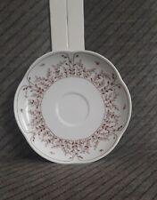 Untertasse f. Kaffeetasse Tirschenreuth Fleur Blätterzauber braun Vintage Retro