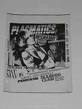 PLASMATICS BUTCHER BABY Fender's Ballroom Handbill WENDY O. WILLIAMS